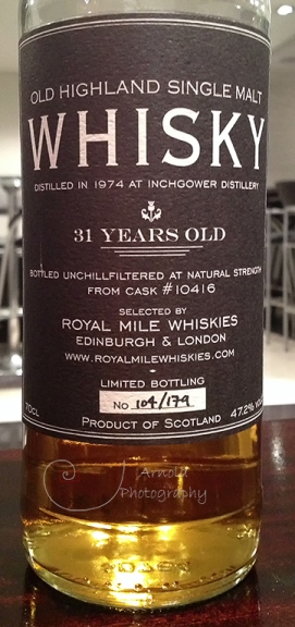Inchgower_RoyalMileWhiskies_31yo_The Smoky Dram